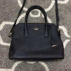 Kate Spade black saffiano handbag